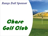 Range Ball Sponsor Mountain golf