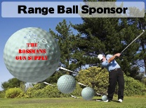 Range Ball Sponsor Golf Swing