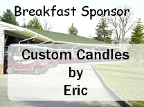 Breakfast Sponsor Golf Carts