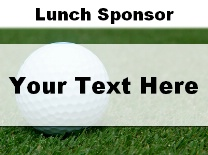 Lunch Sponsor Ball in Grass