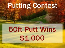 Putting Contest Fall Scene