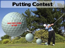 Putting Contest Golf Swing