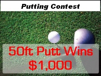 Putting Contest Tee box
