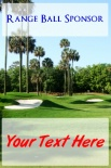 Range Ball Sponsor Palm Trees