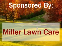 Golf Tournament Fall Scene